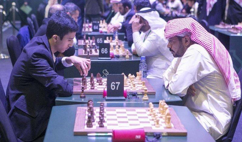 """البطل """"السليمي"""" يناشد بإدراج """"الشطرنج"""" في مقررات المدارس والجامعات.https://sabq.org/WGyVjt"""