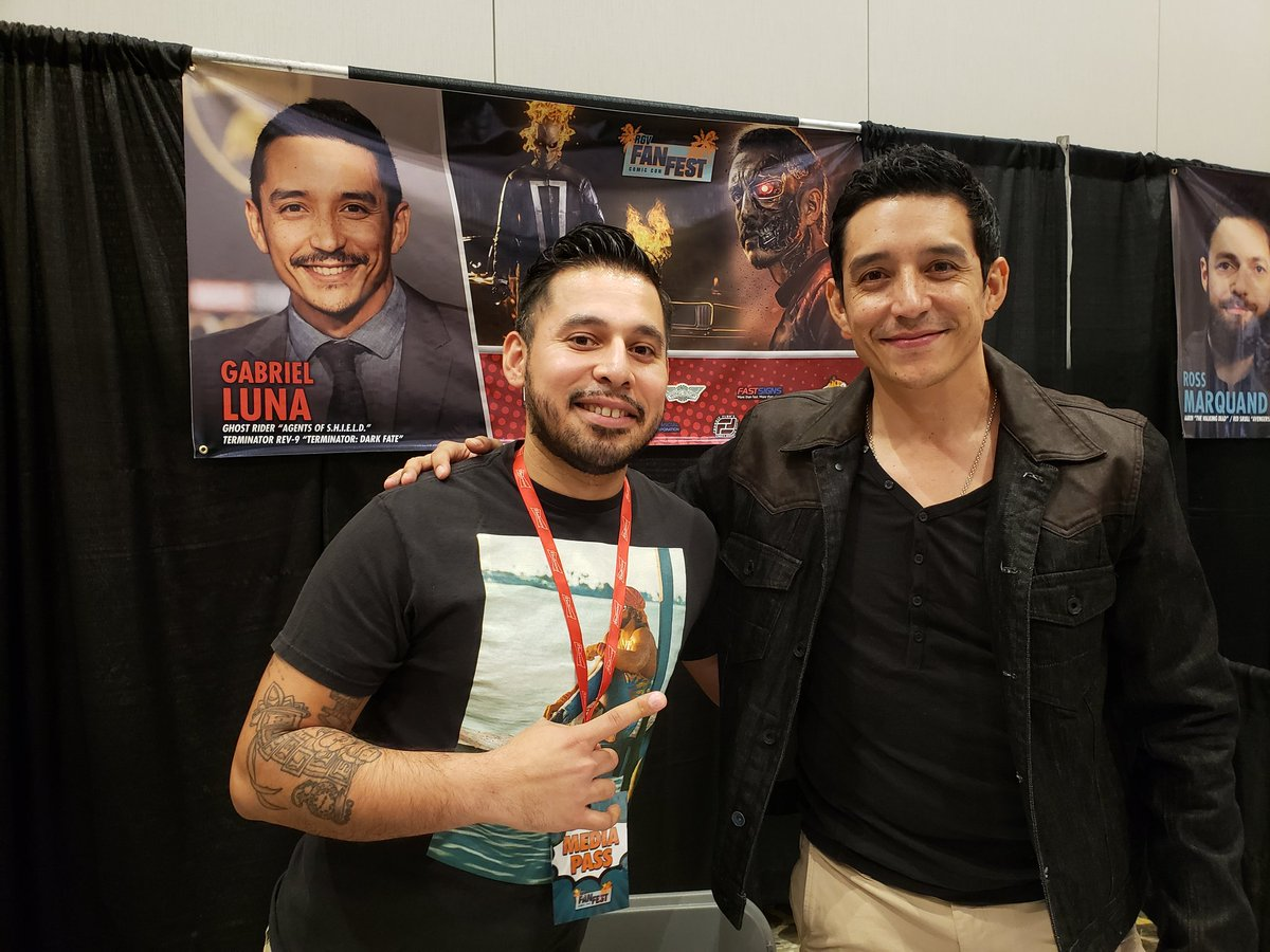 Sat down and spoke with @IamGabrielLuna about how far he's come, how proud he is of his #hispanicheritage and his #family . #interview from @RgvFest coming out soon!!! Subscribe to my #youtube #channel DNC Digital!! #TerminatorDarkFate #terminator #ghostrider #gabriellunapic.twitter.com/RqxPUhjfO1