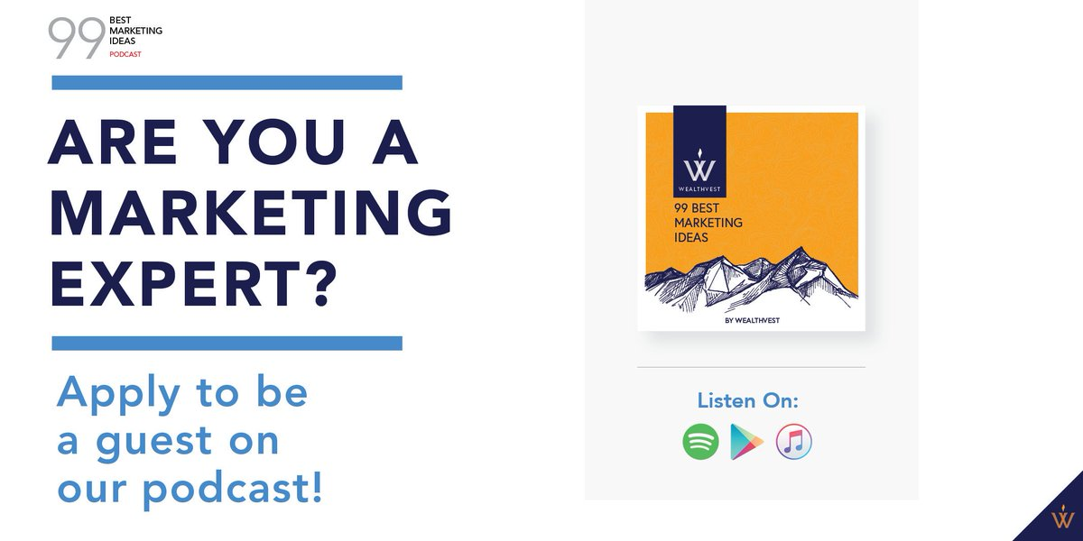 Are you a financial professional who: - Wants to share marketing ideas that have grown your business? - Isn't afraid to talk about your failures? - Is ready to engage in a conversation about marketing? Then we'd love to have you on our podcast. Apply here: https://t.co/Z9pf1oNeD2 https://t.co/ZZ5hZFor6u