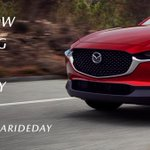 Image for the Tweet beginning: This #GoForARideDay, the #MazdaCX30 is