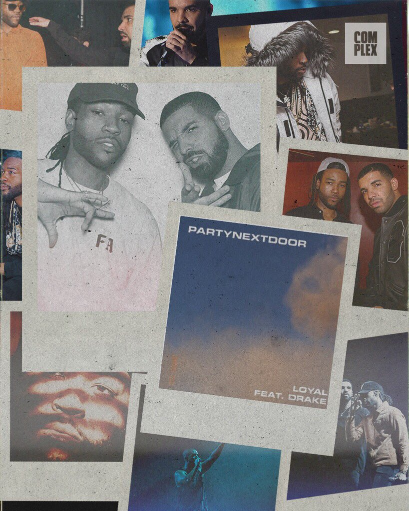 "🦉 @partynextdoor X @Drake LINK UP. ""Loyal"" out now."