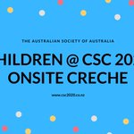 Image for the Tweet beginning: Onsite #creche is available @CSC_2020