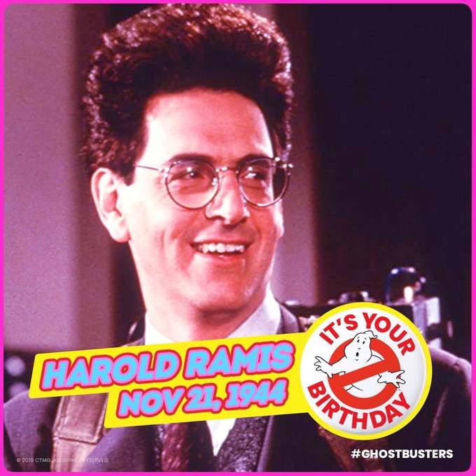 Happy Heavenly Birthday Harold Ramis!!!