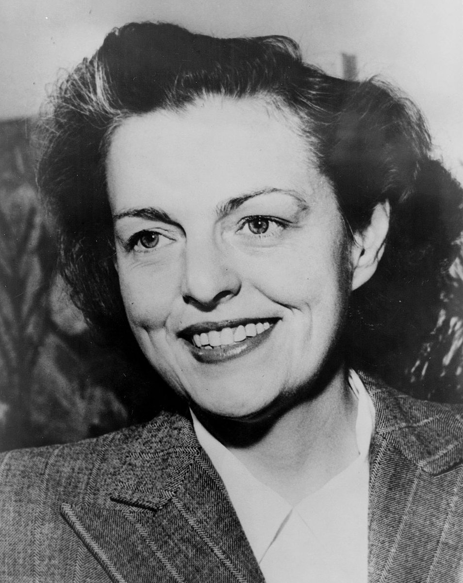 "Born on this day in 1900, actor/politician Helen Gahagan Douglas. ""Character isn't inherited. One builds it daily by the way one thinks and acts, thought by thought, action by action. If one lets fear or hate or anger take possession of the mind, they become self-forged chains."""