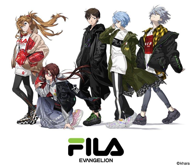 渋谷パルコで本日からRADIO EVAリアルストアがオープン!FILAとのコラボアパレルや新作アイテムが一挙登場!
