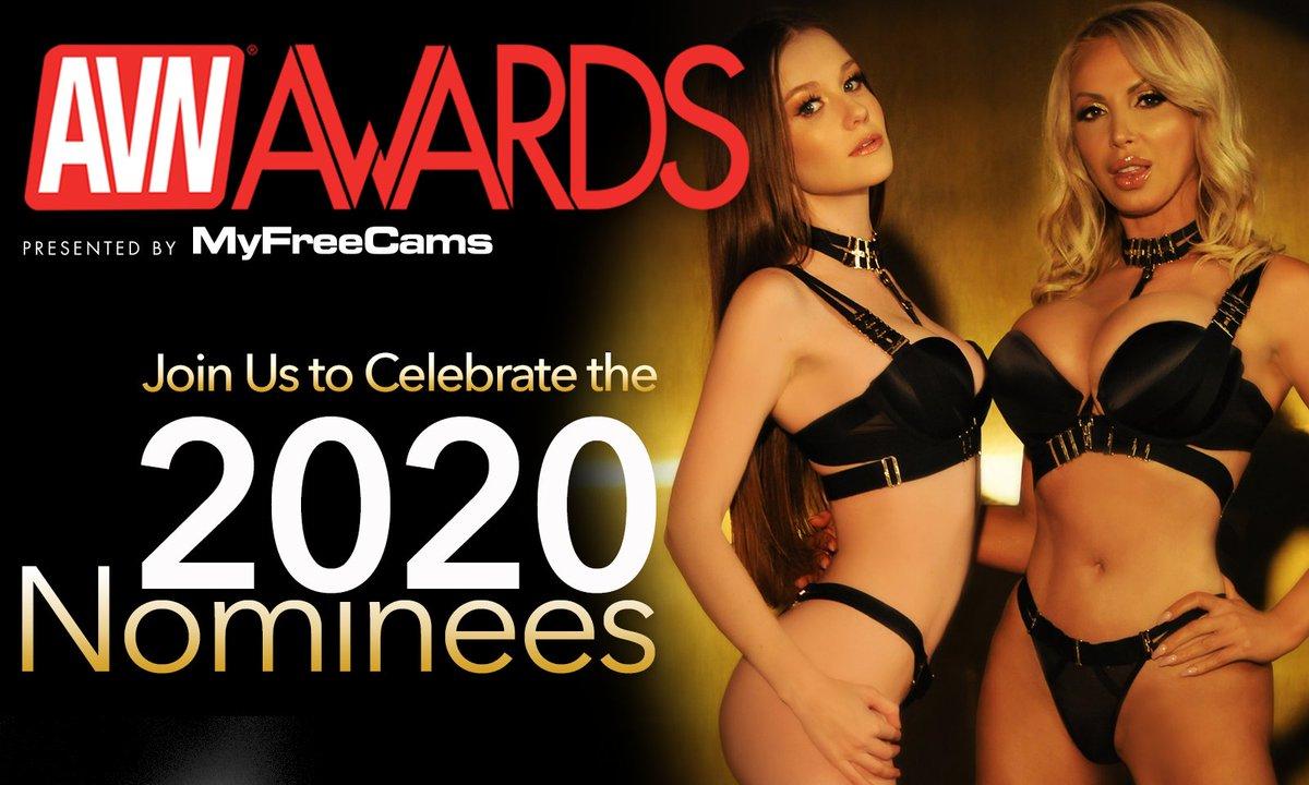 2020 AVN Awards Nomination Party, sponsored by MyFreeCams, to stream live on AVN Stars tonight. ow.ly/mHvg30pVmkp #AVNAwards