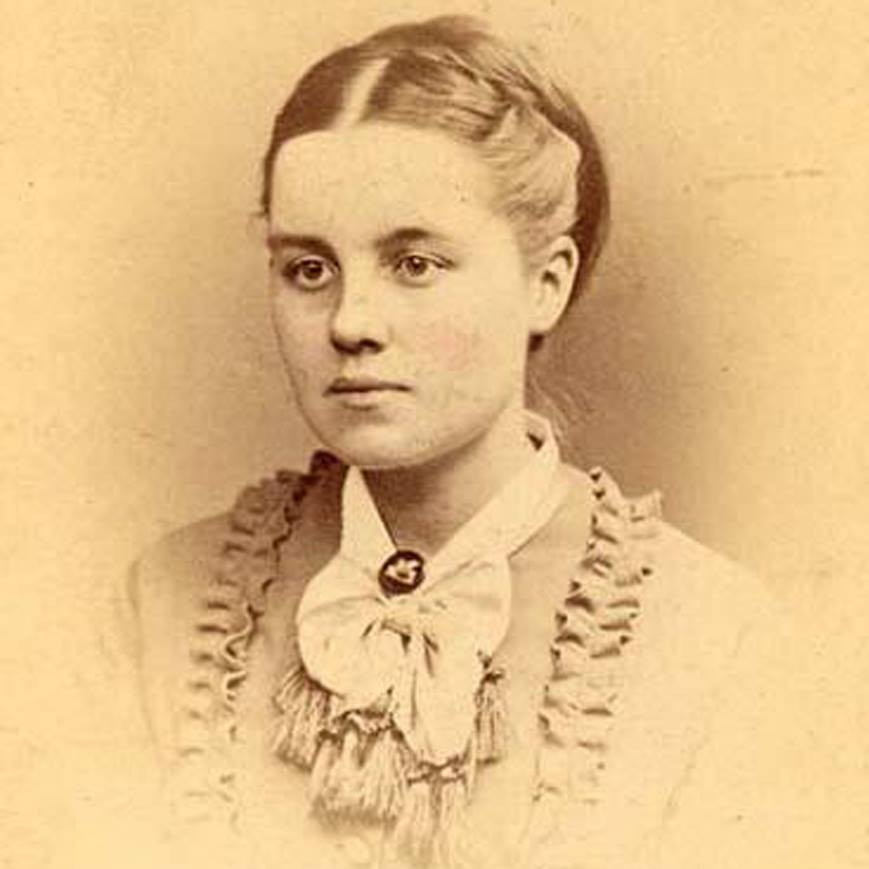 "Born on this day in 1853, academic, instructor, and the first woman to earn a Ph.D. in the United States Helen Magill White.""I just wanted to show people you can do it."""