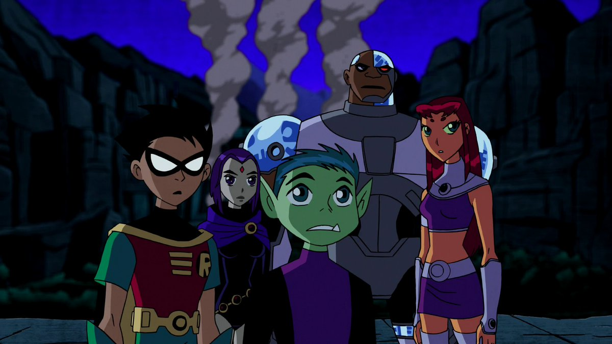 Teen titans final season