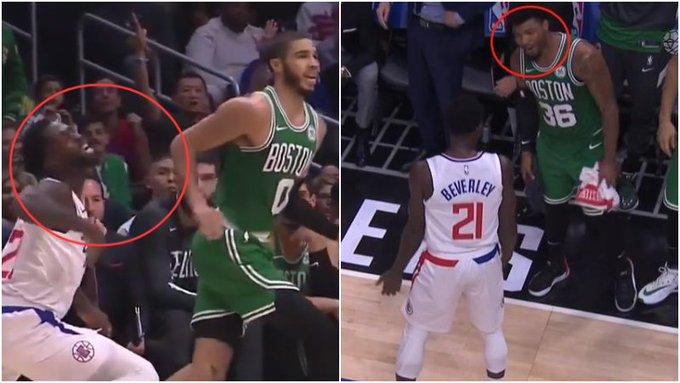 【影片】演技太浮誇?「假摔大師」聰明哥當時都看不下去了,今天NBA官方對Beverley發出警告!