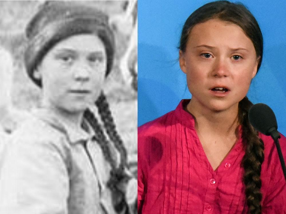 Greta Thunberg look-alike in 1898 Yukon gold rush photo has sparked time-travel conspiracies  https:// ottawacitizen.com/news/world/gre ta-thunberg-look-alike-in-1898-yukon-gold-rush-photo-has-sparked-time-travel-conspiracies/wcm/04c7ae0c-be15-456b-acb7-36696fa7829b?utm_term=Autofeed&utm_medium=Social&utm_source=Twitter#Echobox=1574371190  … <br>http://pic.twitter.com/L2W8oS13Y8
