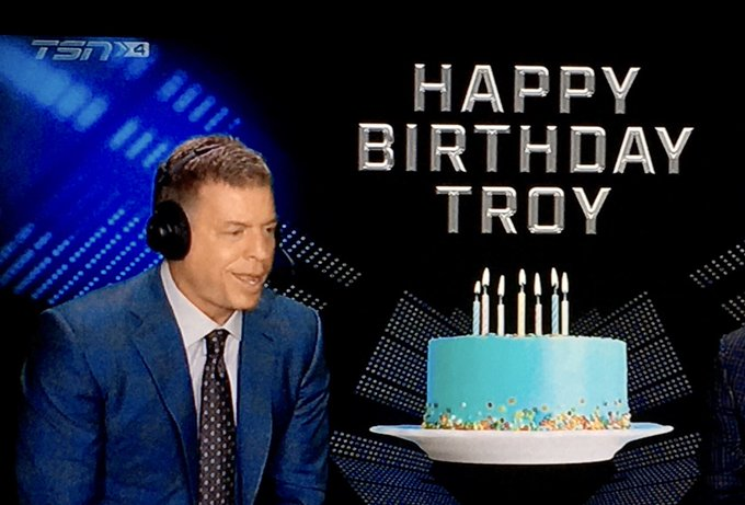 Happy Birthday Troy Aikman.
