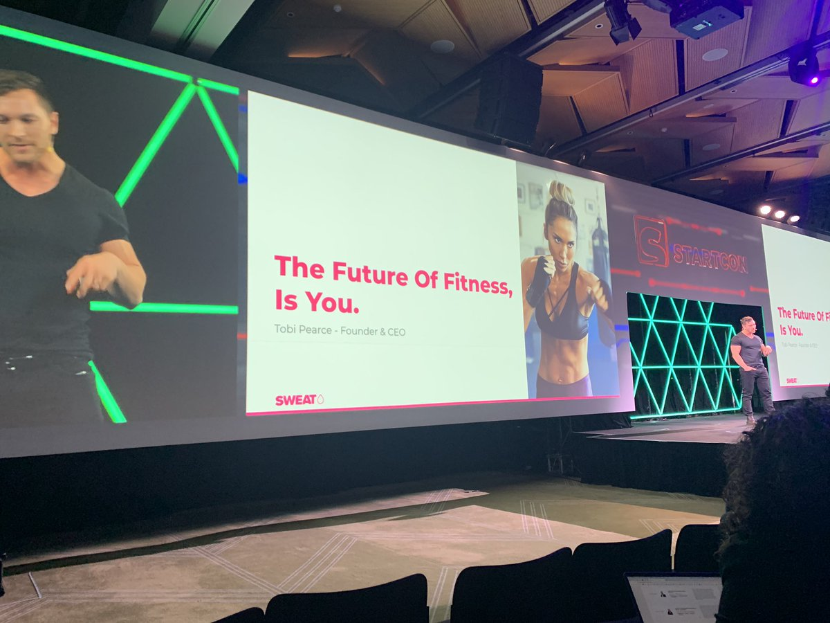 Massive validation to hear womens stories over a year & a half, touring the world running classes, to feed into a key question. Sweat is focussed on changing women's lives not only bodies - any woman, any where, any time so the answer is #digital & PT in your pocket #startcon19