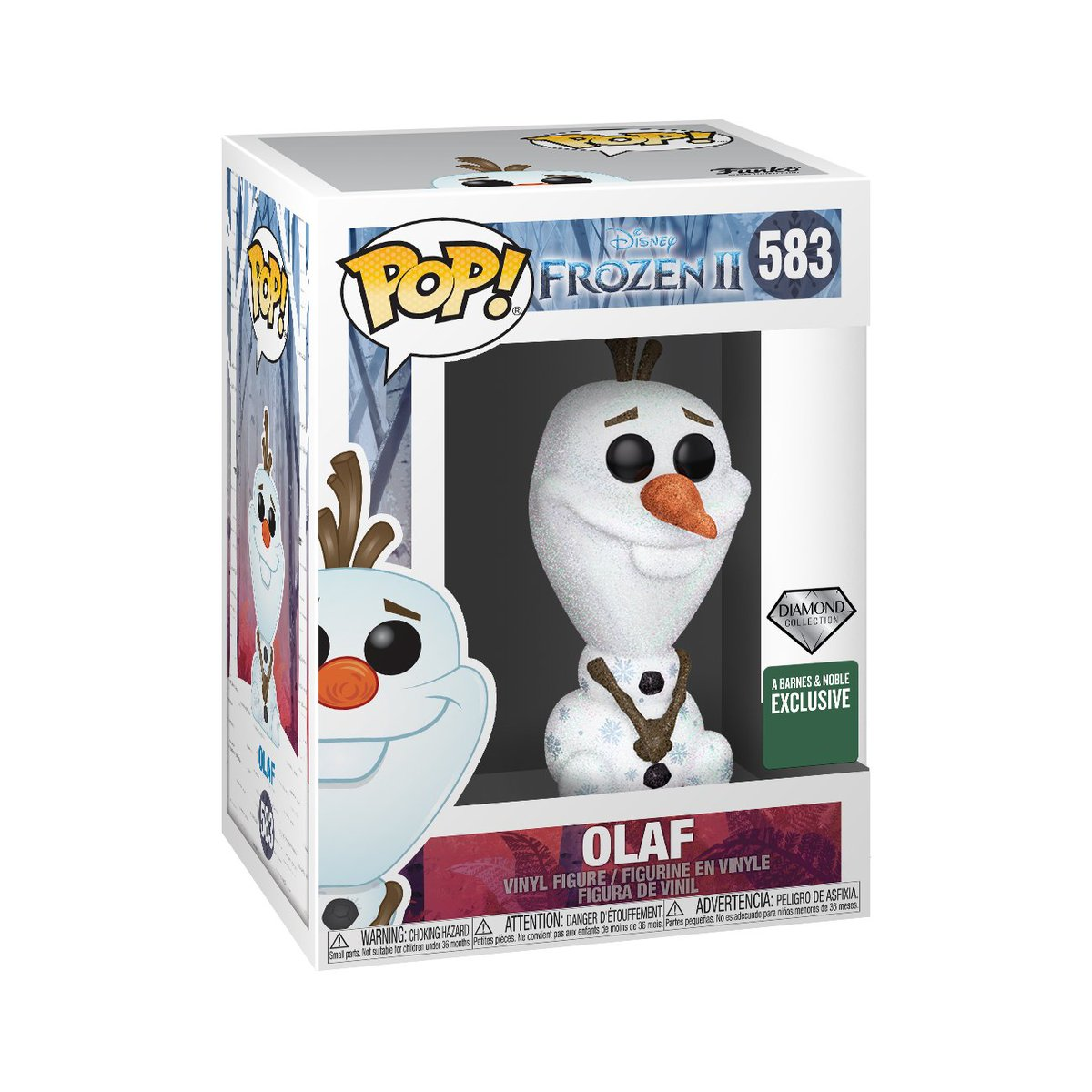 RT & follow @OriginalFunko for a chance to WIN a @BNBuzz Diamond Collection Olaf Pop!      #Funko #FunkoPop #Giveaway #Frozen  #Frozen2  #Exclusive #Disney<br>http://pic.twitter.com/2O45Y4MfE5