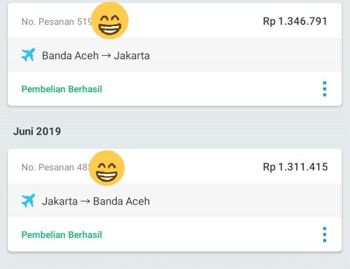 Traveloka Indonesia On Twitter Selamat Yah Amalia Kami Tunggu Pemesanan Kamu Selanjutnya Thanks