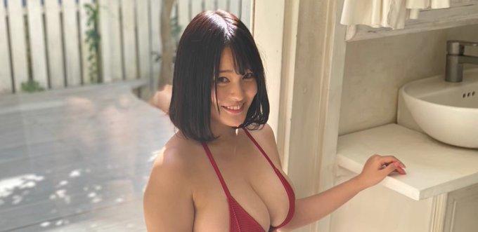 グラビアアイドル彼方美紅のTwitter自撮りエロ画像34