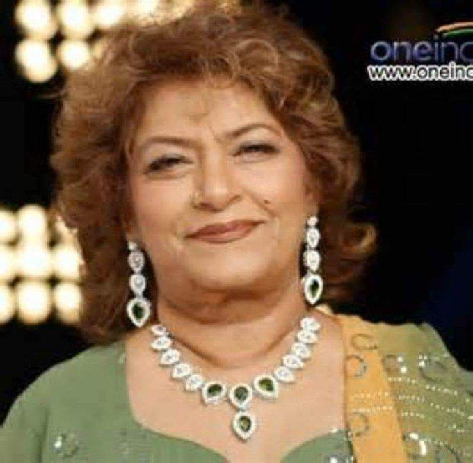 Many Happy returns of the day Happy Birthday Choreographer Saroj Khan.