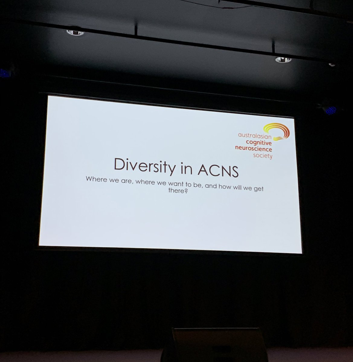 Love this initiative by @ACNS_Official addressing/aiming to improve diversity in the Australasian Cognitive Neuroscience society!  @NeuroGem #ACNS2019 #diversity<br>http://pic.twitter.com/kxPSpg8RVT