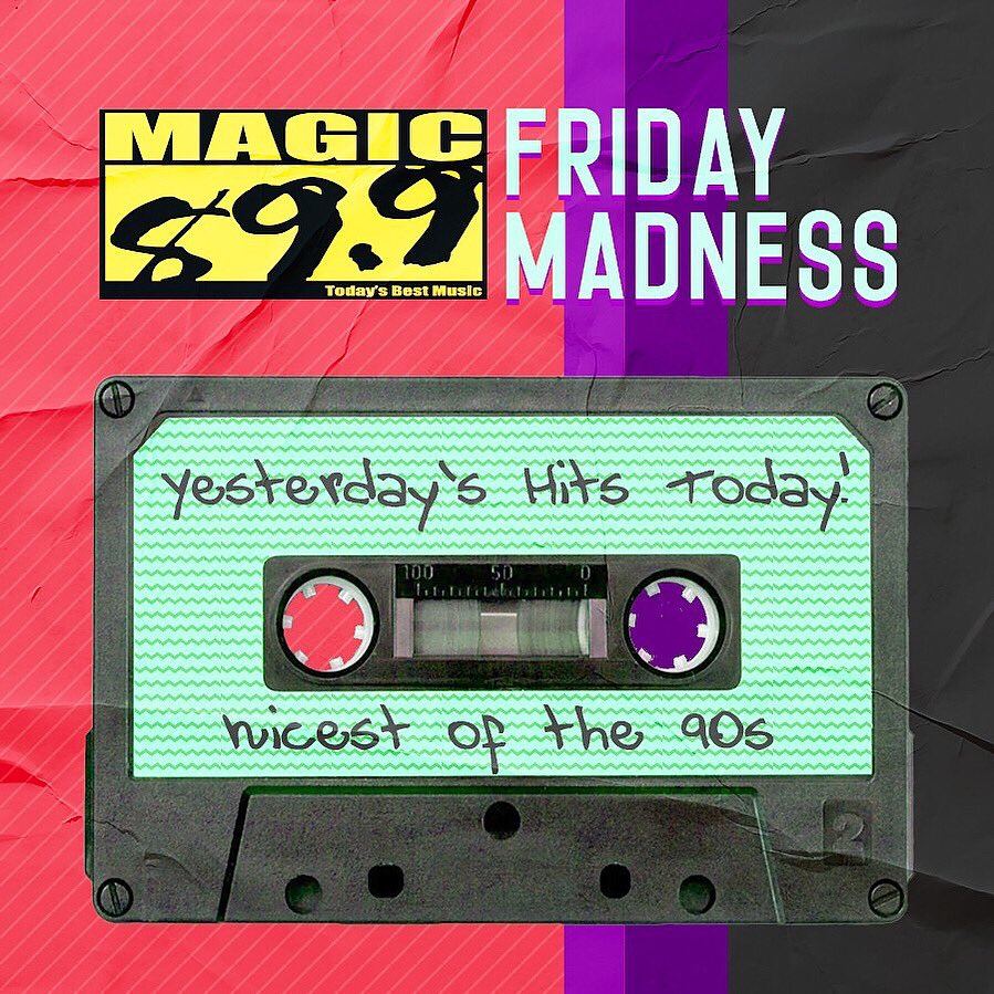 We know today is your favorite day! Holla to the weekend! But first, send in your request coz it's #FridayMadness call us at 8-631-0899 or comment your request. #BeTheMagic
