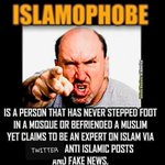 Image for the Tweet beginning: Your #ISLAMOPHOBIA Is The Problem!!