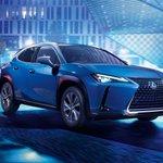 Image for the Tweet beginning: .@Lexus unveils first EV, the