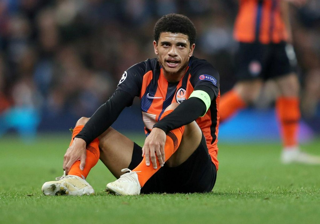 Shakhtar's Taison gets one-match ban for reacting to racist insults https://reut.rs/2XDkoKX