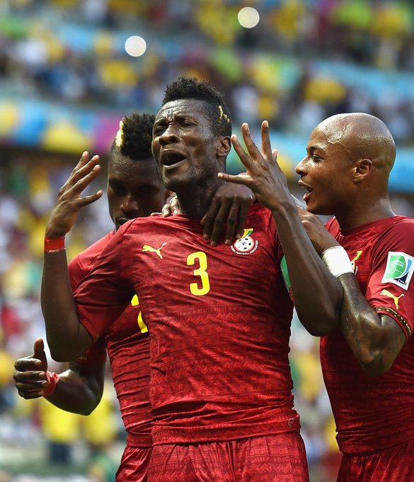Happy birthday to one of the greatest to have done it. A true legend of our game.  Asamoah Gyan.