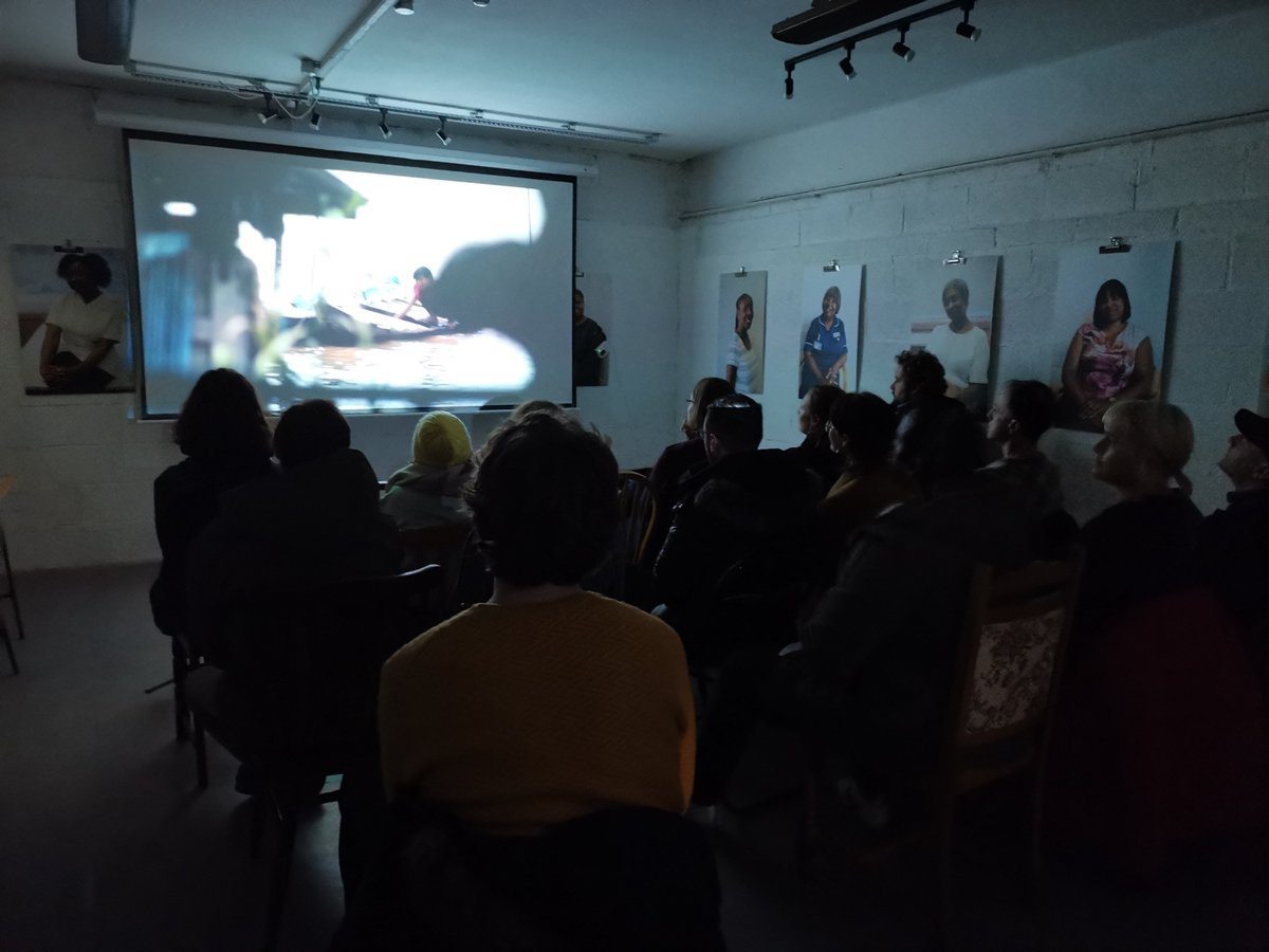 Thanks to everyone who came down to @MixTheCafe last night for Global Shorts!