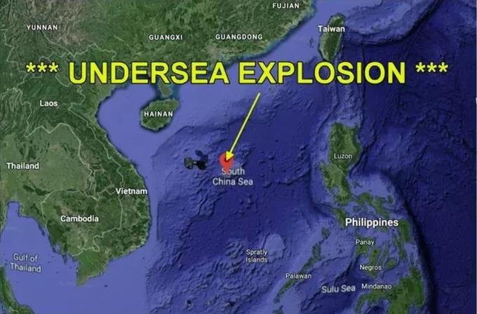 视频:美军与共军南海暗中交手,中共潜艇爆炸