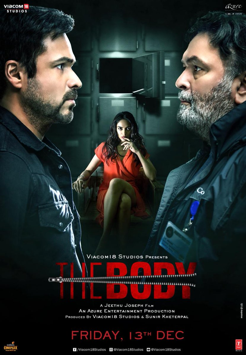 The Body (2019) Hindi WEB-HD 1080p 720p 480p x264 DD5.1 ESubs | Full Movie
