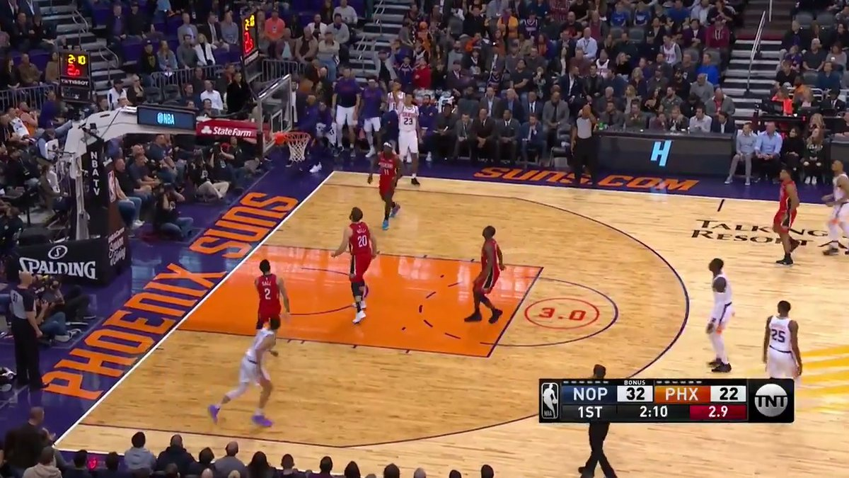 The Phoenix Suns move the ball to set up Cameron Johnson for your Heads Up Play of the Day! ☀️