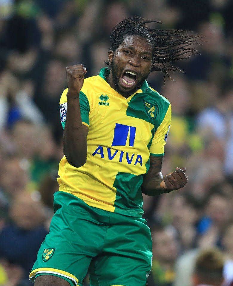 Happy Friday and a happy birthday to former loanee Dieumerci Mbokani 💪🔥 🤔 Do you wish Norwich had signed him on a permanent basis? #NCFC #OTBC