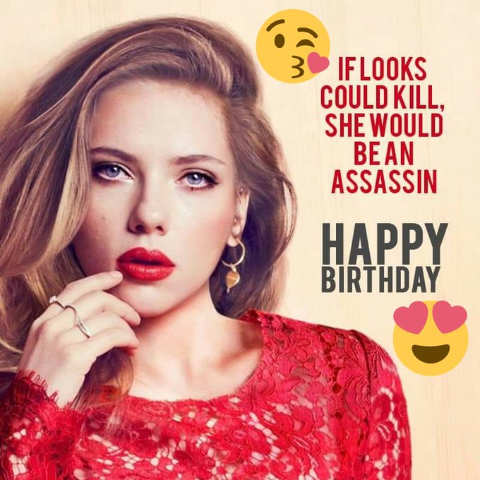Happy Birthday Scarlett Johansson :) (y)