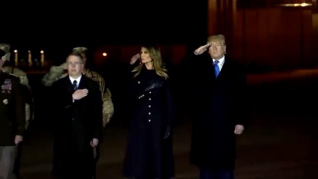 Trump honors two U.S. soldiers killed in Afghanistan. More here: https://reut.rs/2D322JP