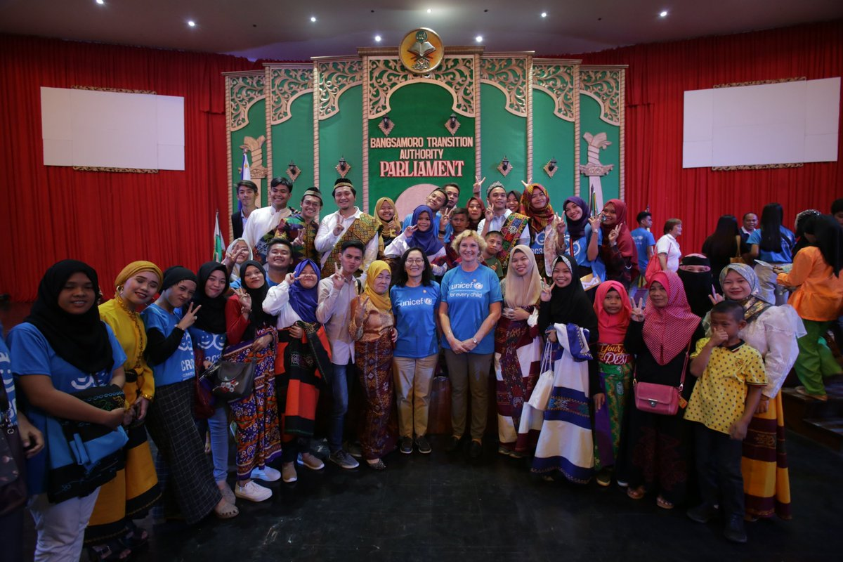 A historic day on #CRC30 in the Philippines: BARMM Parliament passes Resolution 147 to support Bangsamoro Children's Declaration! Happy to see commitment #ForEveryChildEveryRight especially for those left behind #WorldChildrensDay