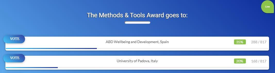 test Twitter Media - #EldcareFriendlyReminder, el altavoz inteligente que impide la soledad y el aislamiento de las #PersonasMayores, impulsado por @abd_ong, seleccionado como finalista de los Premios Europeos de Servicios Sociales #ESSA 2019  ✅ Vota el proyecto aquí ⬇️⬇️  https://t.co/QmEcsuqnon https://t.co/bpqcV7XRQ8