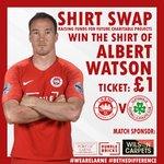 Image for the Tweet beginning: SHIRT SWAP: Get your Shirt