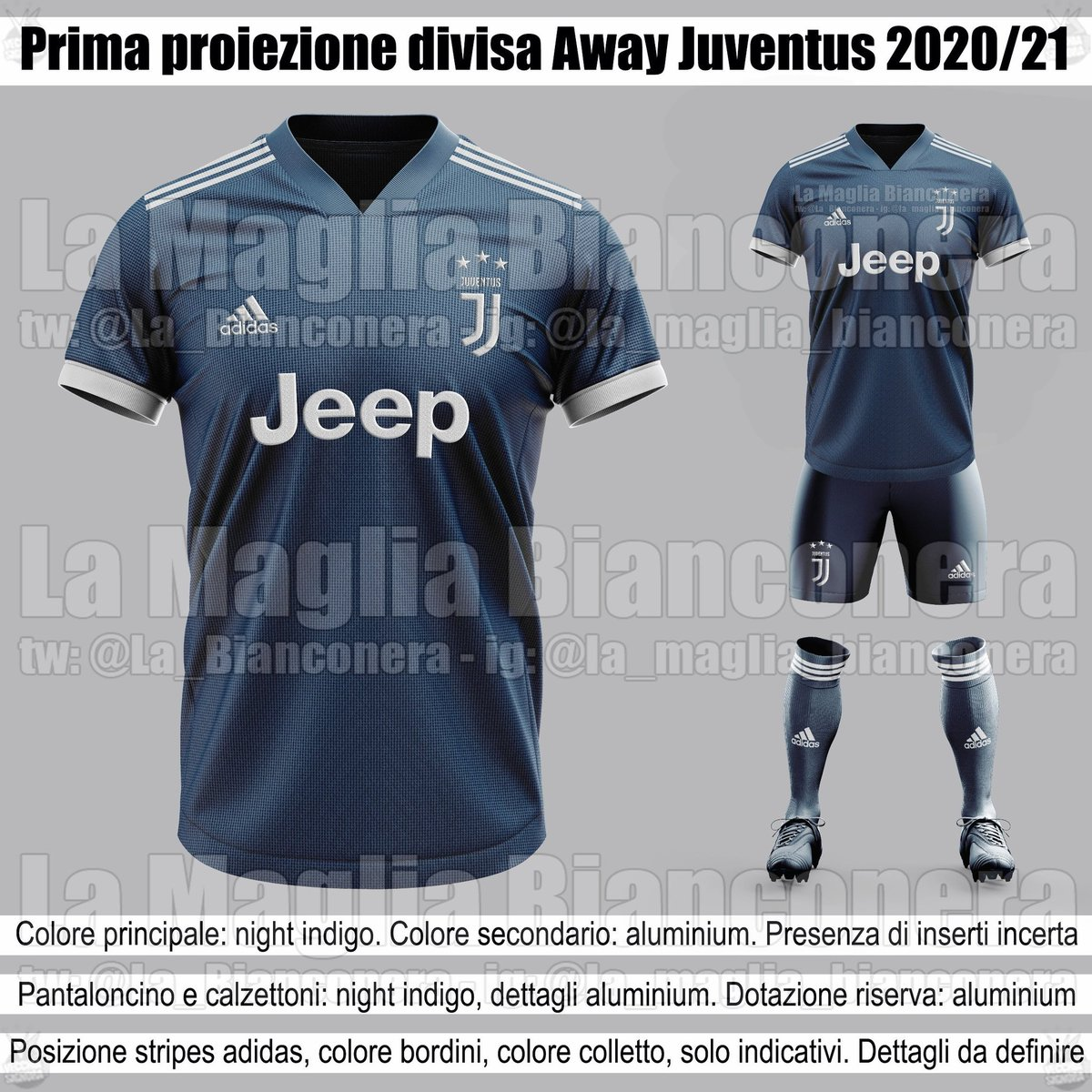 Juvefc On Twitter Projection For The Juventus Away Kit 2020 21 La Bianconera