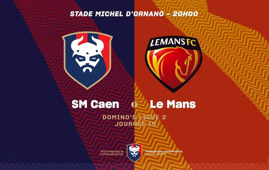 [15e journée de L2] SM Caen 3-3 Le Mans FC EJ9yM9nXYAADSMV