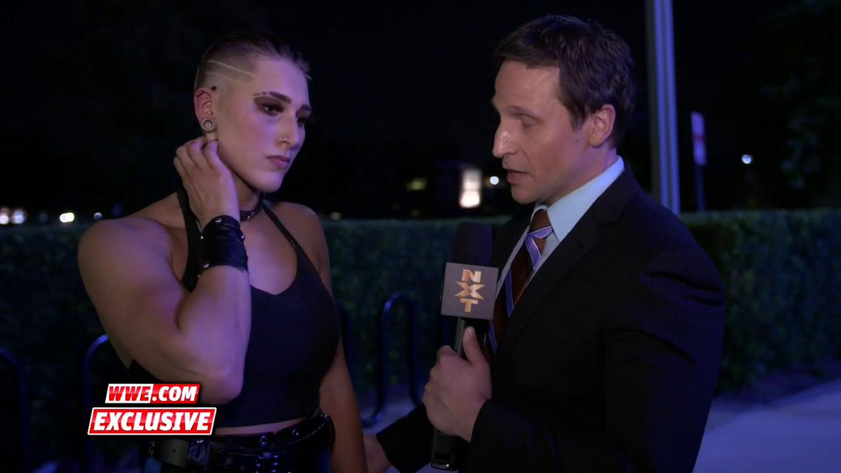 EXCLUSIVE: #NXTTakeOver: WarGames can't come soon enough for @RheaRipley_WWE. #WWENXT