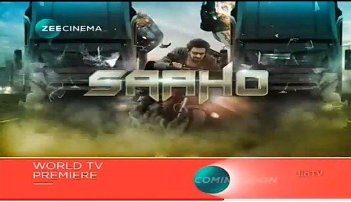 #Saaho hindi world tv premiere soon @zeecinema<br>http://pic.twitter.com/ZyBxlgIxXp