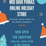 Image for the Tweet beginning: Our Holiday store is now