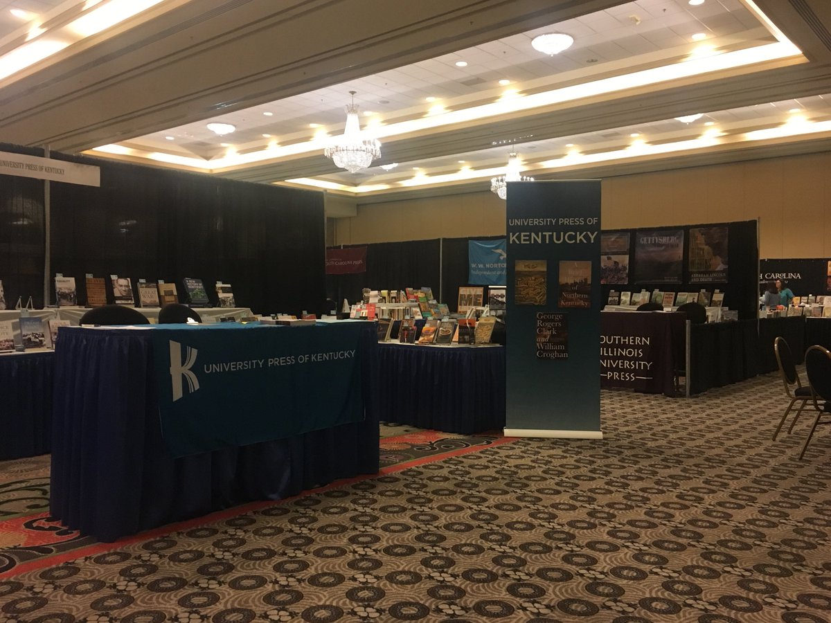 Helpful Conference Tip: Before leaving town today check out the SHA's book exhibit. A lot of presses offer discounts on the final day of a conference! #2019SHA #gradstudents #phdchat #twitterstorians #conferencing #books #southernhist https://t.co/jiexId3VgQ