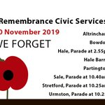 Image for the Tweet beginning: Today we will remember and