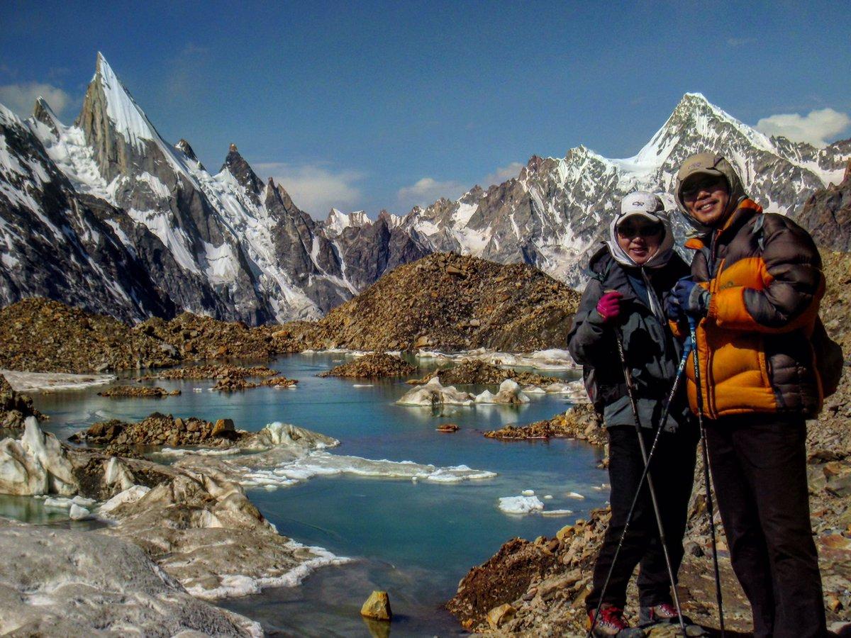 Laila Peak 6096m expedition by Summit Karakoram http://www.summitkarakoram.com