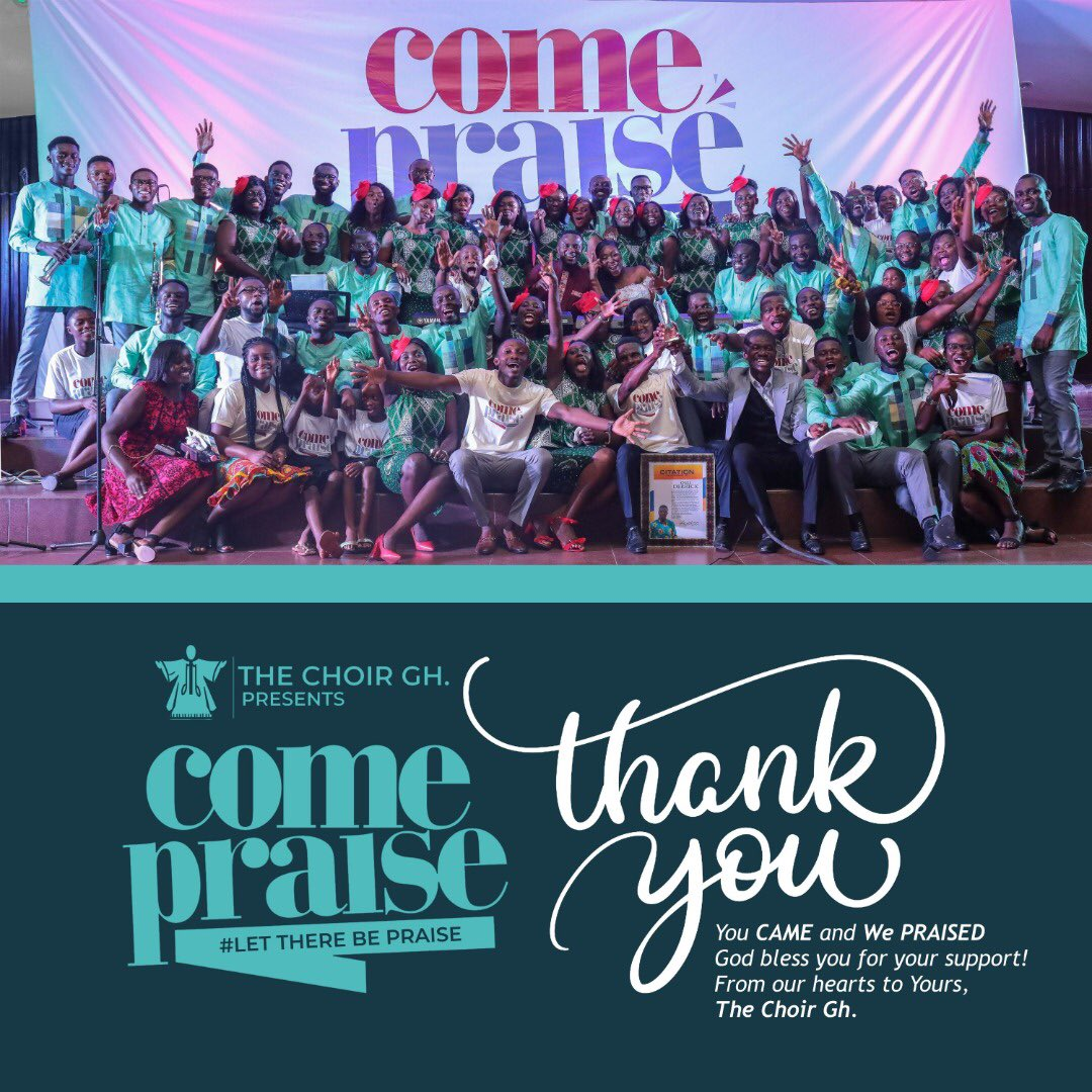 You CAME and We PRAISED!From our hearts to Yours,Thank you!#AndThereWasPraise