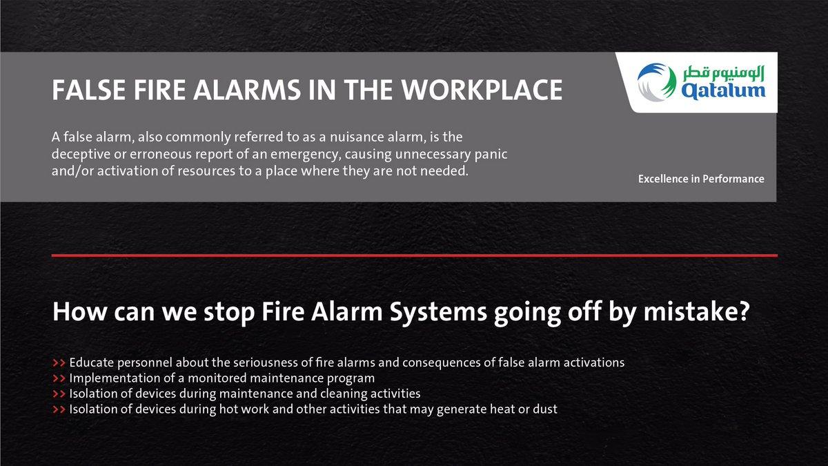 Qatalum Fire Safety Campaign #safetyatwork #HSE #Qatar #Qatalum #QNV2030