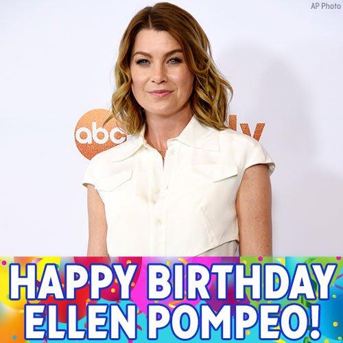 Happy Birthday to Grey s Anatomy star Ellen Pompeo!