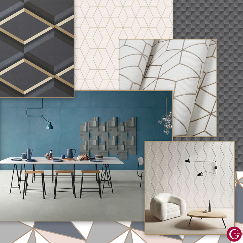 Using geometric shapes and patterns whilst styling your home is a great way to introduce a fresh, modern touch. https://t.co/cu3mTZAceO
