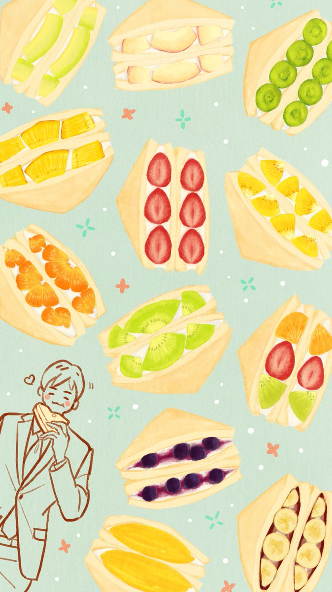Omiyu みゆき En Twitter フルーツサンドな壁紙 フルーツサンド イラスト サンドイッチ フルーツ いちご キウイ 壁紙 みかん Sandwich Fruits Fruitssand Strawberry Illust Sweets T Co 2zgtlq8vud