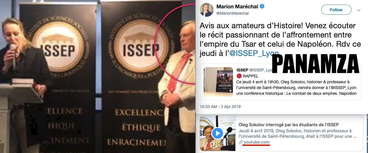 Marion Maréchal efface sa vidéo avec son prof assassin
